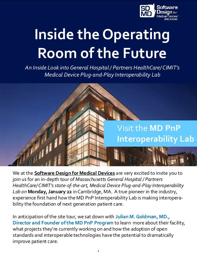 Inside the Operating Room of the Future: How Mass General is Unleashi…