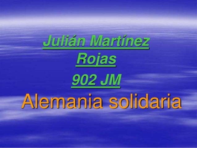 Julian martinez rojas