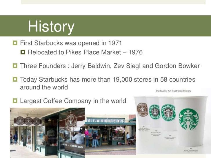 Starbucks: market structure, competitve impact, pricing
