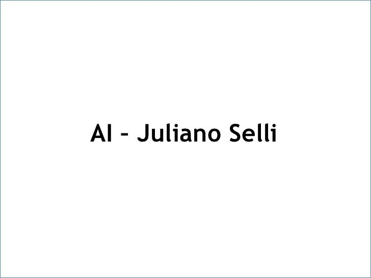 AI – Juliano Selli<br />