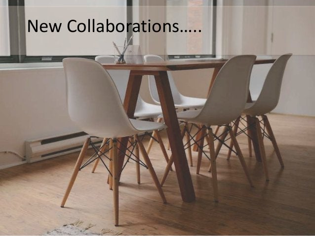 New Collaborations…..