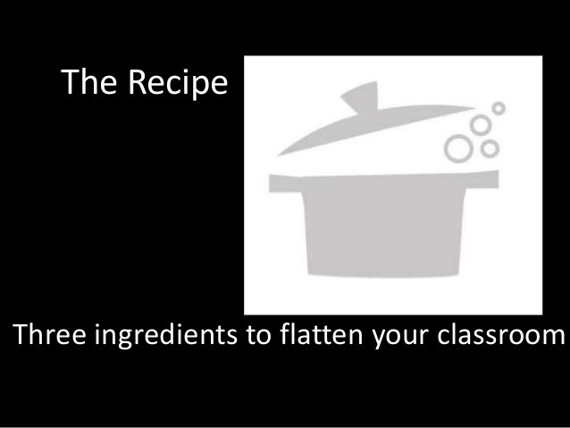 The RecipeThree ingredients to flatten your classroom