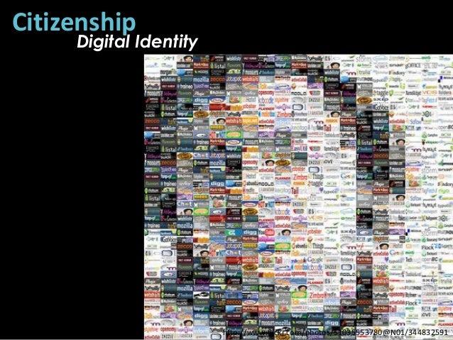 Citizenship     Digital Identity                        http://www.flickr.com/photos/51035553780@N01/344832591