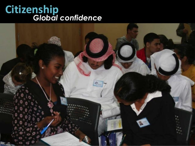 Citizenship     Global confidence