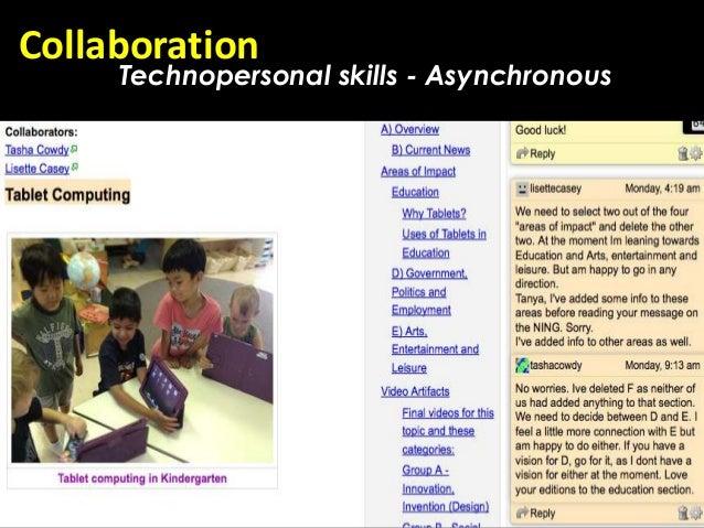 Collaboration     Technopersonal skills - Asynchronous