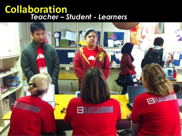 Collaboration     Teacher – Student - Learners
