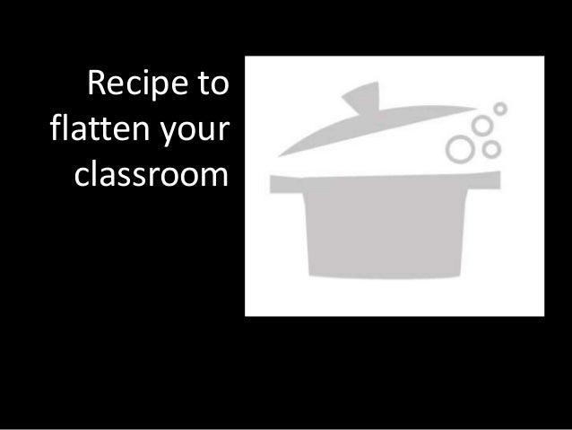 Recipe toflatten your  classroom