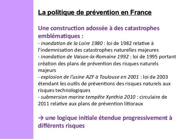 Julien langumier la pr vention des risques en france - La cuisine de julie france 3 ...