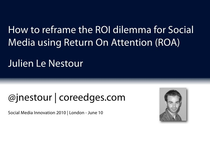 Julien Le Nestour, Worldwide IT Innovation Manager, Schlumberger