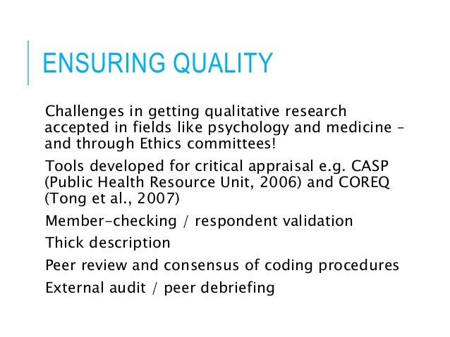 qualitative nursing research report analysis Guidelines for qualitative nursing research critique your qualitative research report analysis requires an in-depth analysis of the following questions.