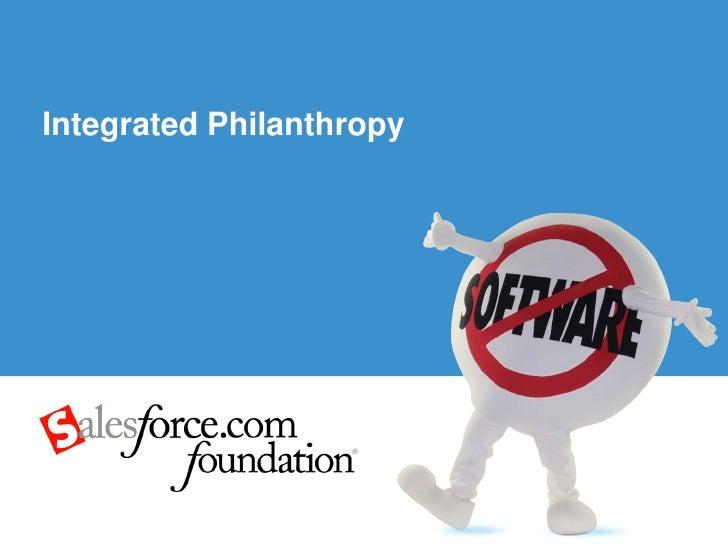 Integrated Philanthropy