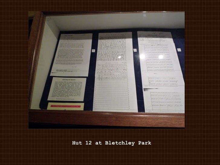 Hut 12 at Bletchley Park