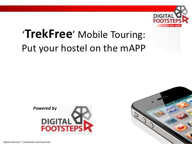 YOU ARE HERE                  'TrekFree' Mobile Touring:                  Put your hostel on the mAPP                     ...