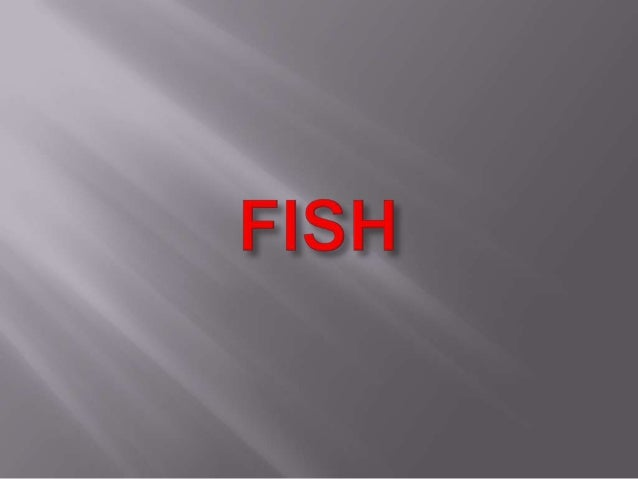 The are lots of types of fish that live in the sea. Different types of fish live in different parts of the ocean. Some l...