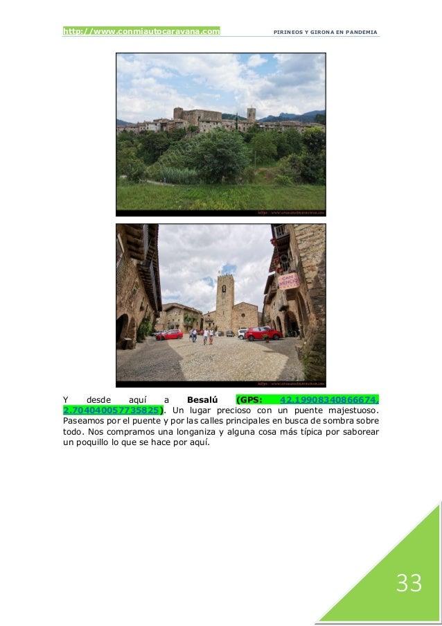 http://www.conmiautocaravana.com PIRINEOS Y GIRONA EN PANDEMIA 33 Y desde aquí a Besalú (GPS: 42.19908340866674, 2.7040400...