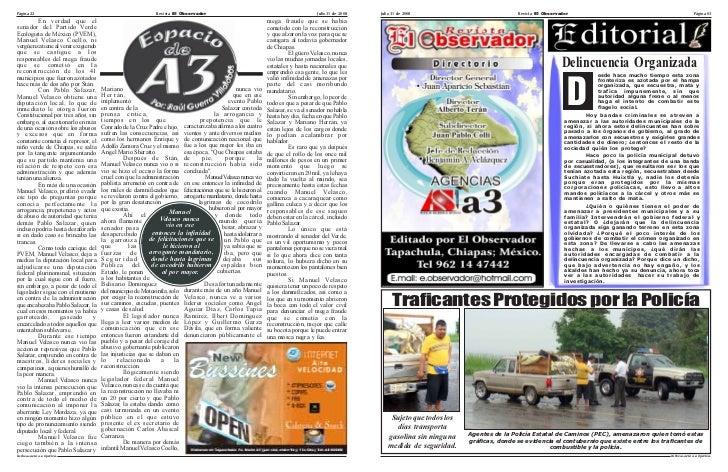 Página 22                                                   Revista El Observador                                         ...