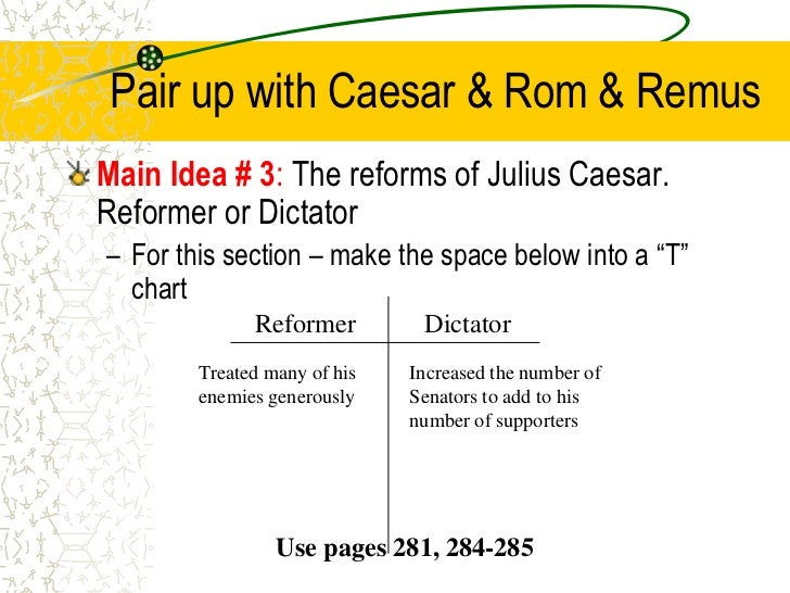 julius caesar corruption in the government In order to strengthen the political bonds with pompey, caesar gave his   pompey proved to be easily influenced by the corrupt senate of rome, which  was.