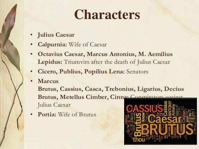 julius caesar traits