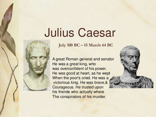 examples of antagonist in julius caesar The characters of julius caesar variously interpret the  a cunning antagonist,  hamlet sees examples on all sides of those whose forthright actions lead to.