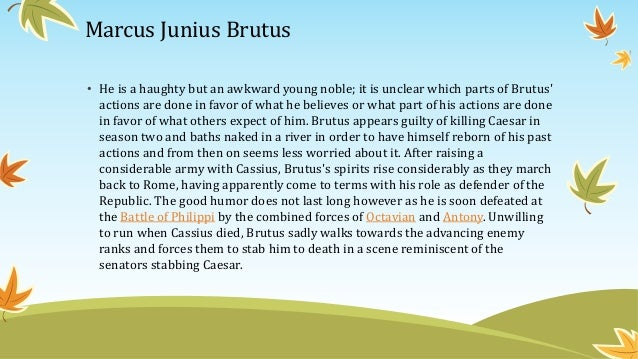 Brutus summary