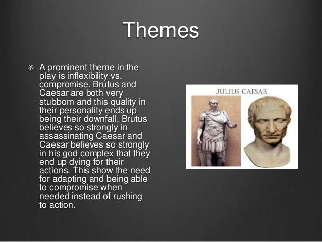 a critical analysis of the actions of brutus in shakespeares play julius caesar Read expert analysis on literary devices in julius caesar this speech and her actions convince brutus that she is shakespeare adds the final three.