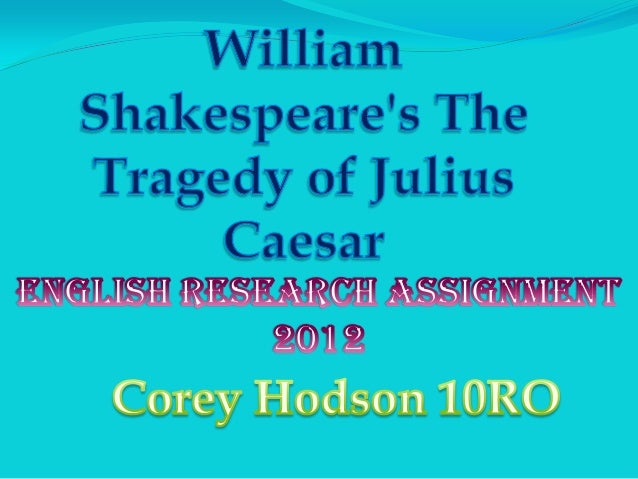 Basic information WHO- Julius Caesar was a roman dictator that gets  stabbed and comes back as a ghost to taunt Brutus. ...