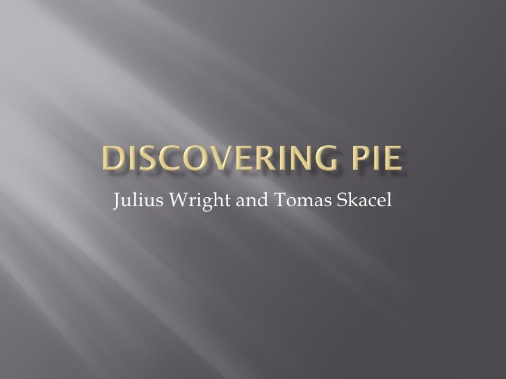 Julius Wright and Tomas Skacel