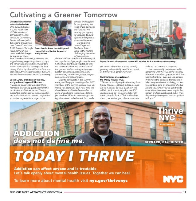 Featured in The NYCHA Journal