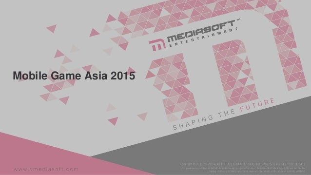 Mobile Game Asia 2015