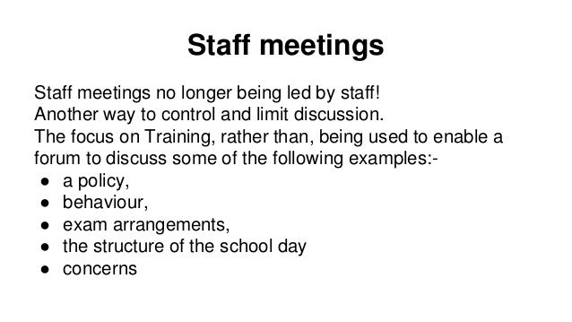 Workload in Primary