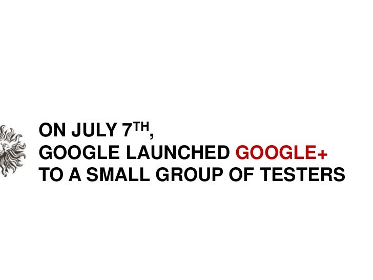 Google+ is here. What now? Slide 2