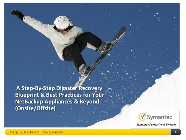 A step by step disaster recovery blueprint best practices for your a step by step disaster recovery blueprint best practices for your netbackup appliances malvernweather Choice Image