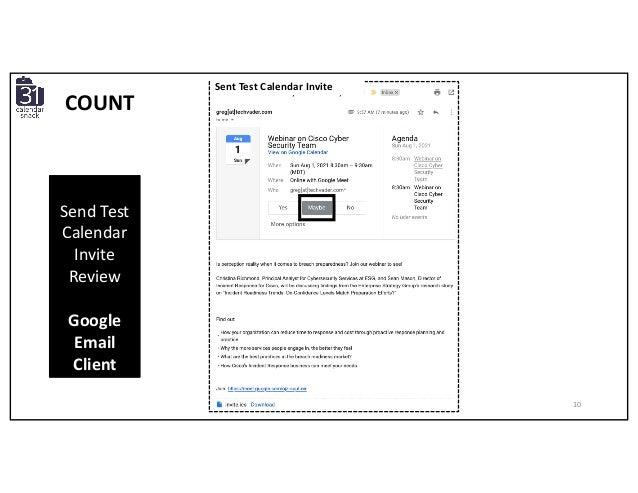 Send Test Calendar Invite Review Google Email Client Sent Test Calendar Invite COUNT 10