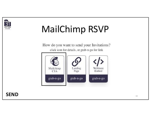 MailChimp RSVP SEND 14