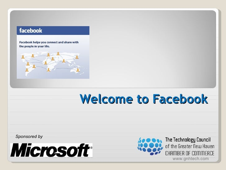 Welcome to Facebook  Sponsored by    Sponsored by                             www.gnhtech.com