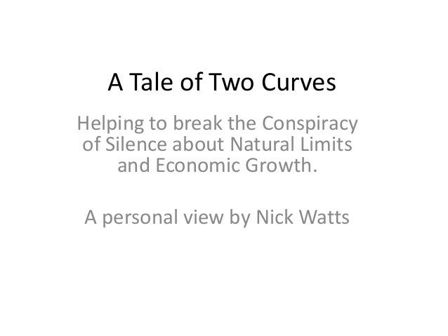 A Tale of Two Curves Helping to break the Conspiracy of Silence about Natural Limits and Economic Growth. A personal view ...