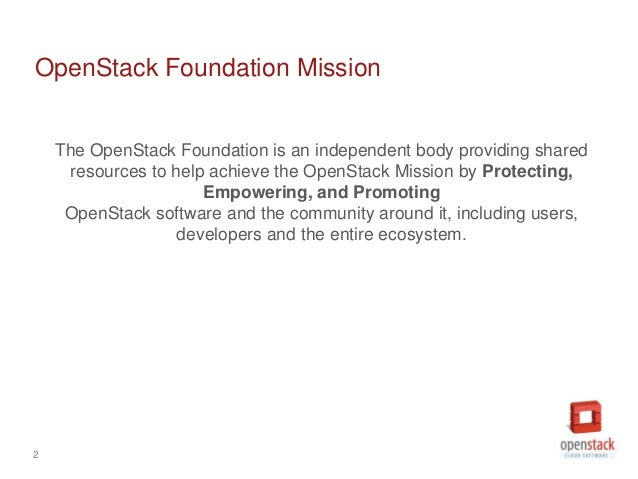 OpenStack July Marketing Meeting Slide 2