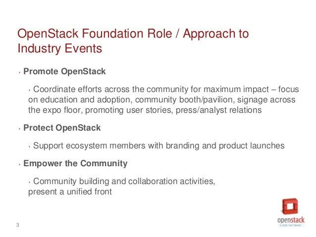 OpenStack July Marketing Meeting Slide 3