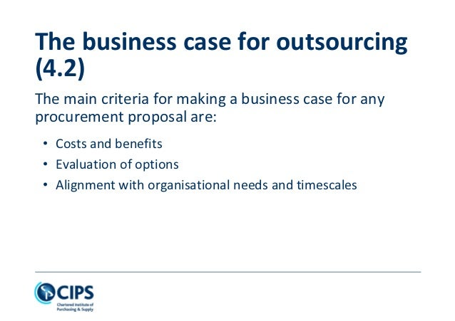 evaluate the arguments for and against outsourcing Outsourcing vs insourcing  outsourcing has found a majority of supporters though there have been critical voices against it as well.