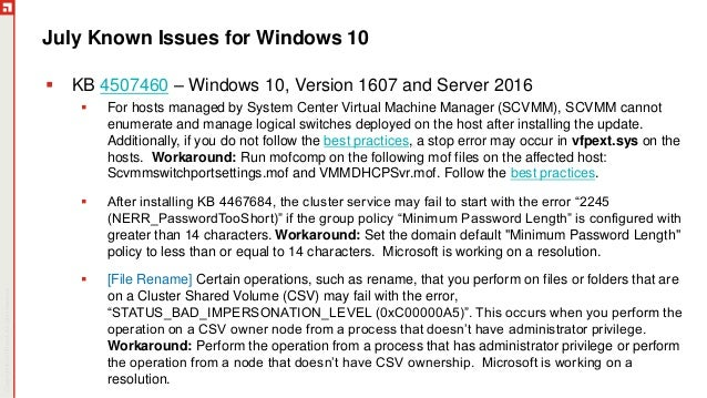 July Patch Tuesday 2019