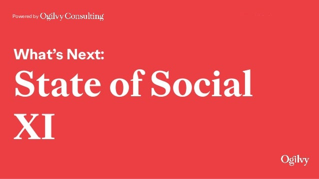 Powered by What's Next: State of Social XI