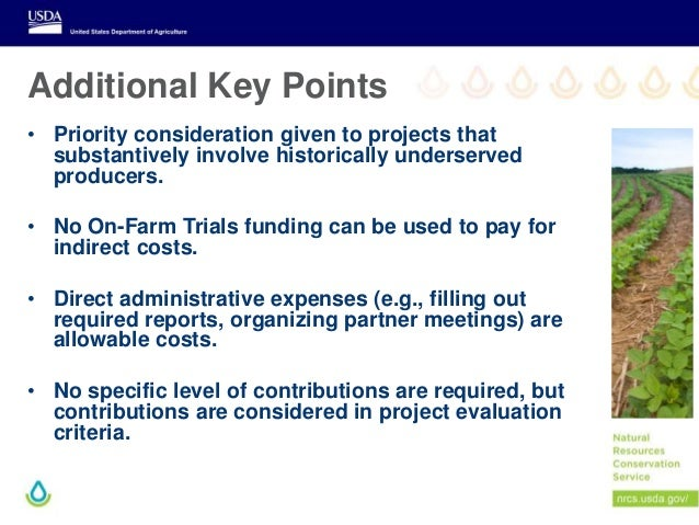 Additional Key Points • Priority consideration given to projects that substantively involve historically underserved produ...