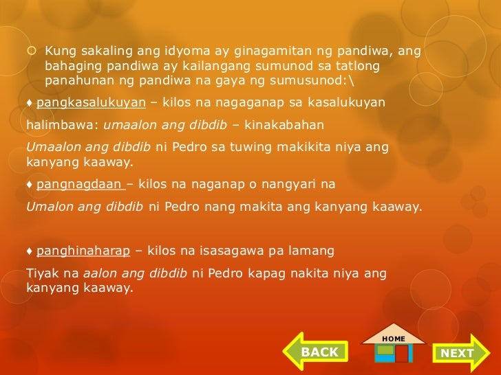 mga salawikain at ang kahulugan nito For als a&e secondary learning strand 1: communication skills (filipino.