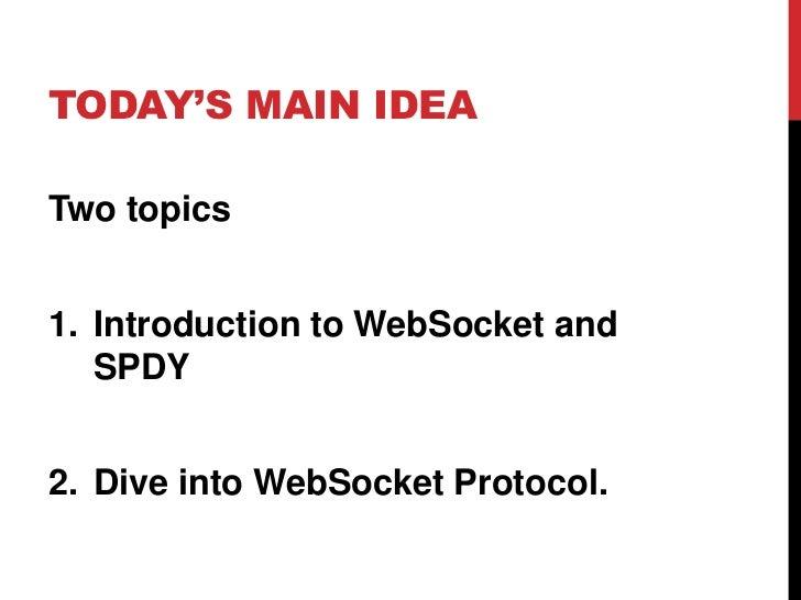 WebSocket protocol