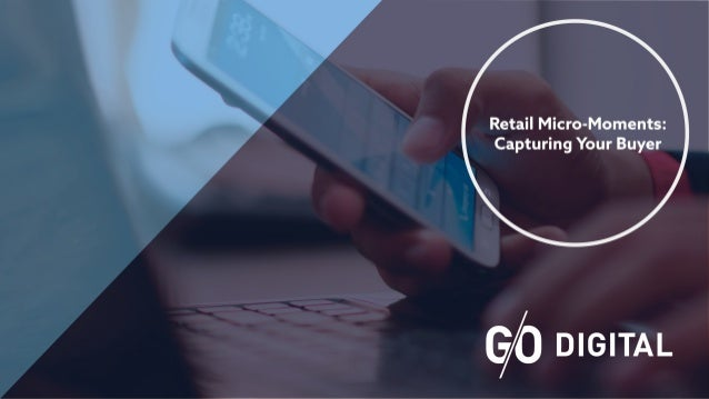 Mobile technology has allowed consumers to make decisions on the spot, where users' access to products or notifications on...