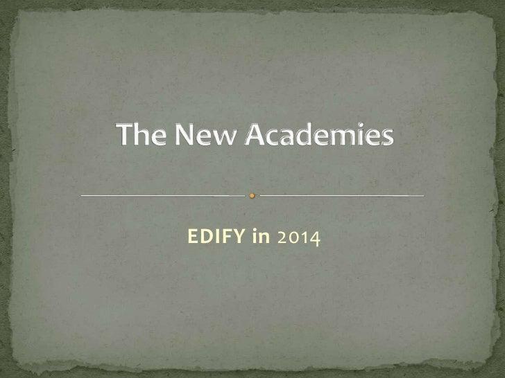 EDIFY in 2014