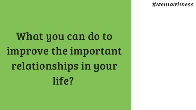 why are relationships important in life