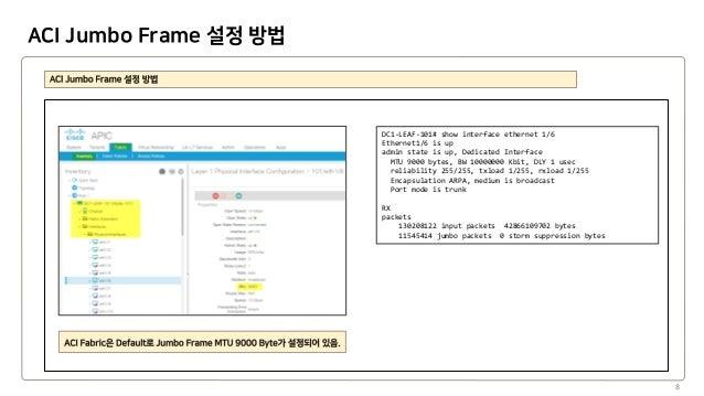 Network Jumbo Frame Config Guide