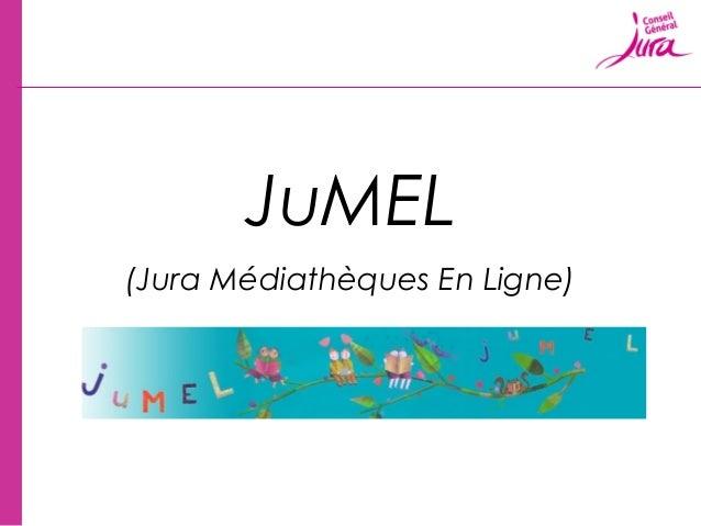 JuMEL(Jura Médiathèques En Ligne)