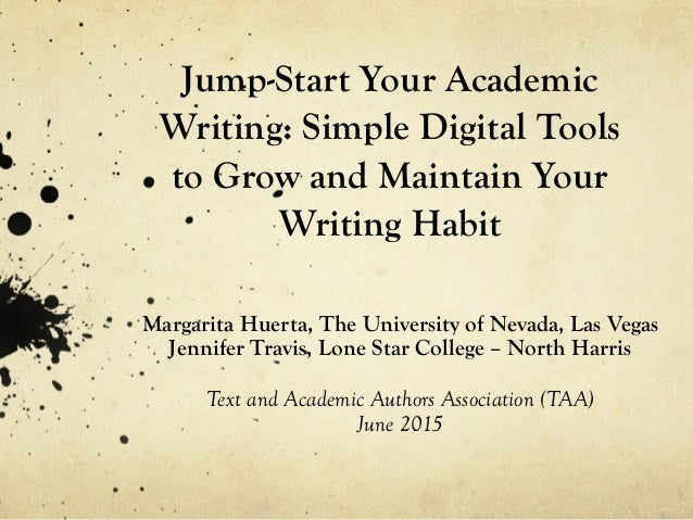 be5d00500dbd Jump-Start Your Academic Writing  Simple Digital Tools to Grow and Maintain  Your Writing Habit